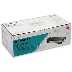 Image of Sharp AL-110DC Black Copier Toner Cartridge