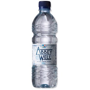Image of Abbey Well Still Mineral Water - 24 x 500ml Plastic Bottles