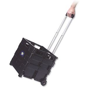 Image of Foldable Crate Trolley - Capacity 35kg