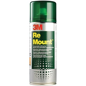 Image of 3M ReMount Adhesive Spray Can - 400ml