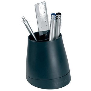 Image of Rexel Agenda2 Pencil Cup / W97xD97xH108mm / Charcoal