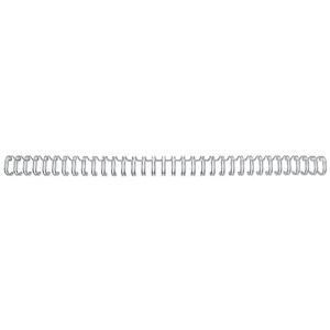 Image of GBC Binding Wire Elements / 34 Loop / 5mm / Silver / Pack of 100