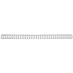 Image of GBC Binding Wire Elements / 34 Loop / 11mm / Silver / Pack of 100
