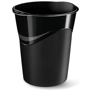 Image of 5 Star Bin / Polypropylene / 16 Litres / W300xD363xH323mm / Black