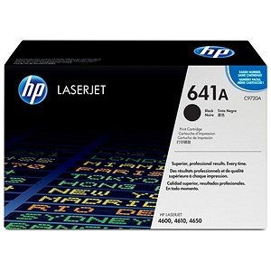 Image of HP 641A Black Laser Toner Cartridge