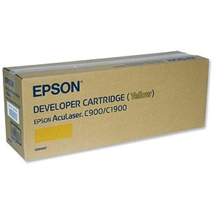 Image of Epson AcuLaser C900/1900 Yellow Laser Toner Cartridge