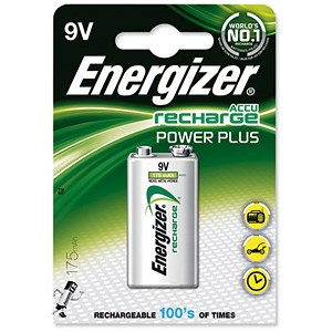 Image of Energizer Advanced Rechargeable Battery / 9V / NiMH 175mAh HR22.5V