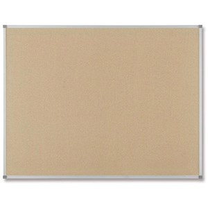 Image of Nobo Classic Noticeboard / Cork / Aluminium Trim / W900xH600mm