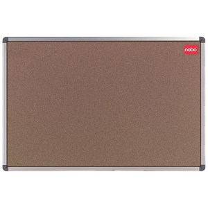 Image of Nobo Classic Noticeboard / Cork / Aluminium Trim / W1200xH900mm