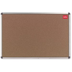 Image of Nobo Classic Noticeboard / Cork / Aluminium Trim / W1800xH1200mm
