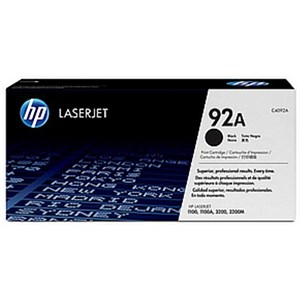 Image of HP 92A Black Laser Toner Cartridge