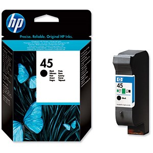 Image of HP 45 Black Ink Cartridge - Low Capacity