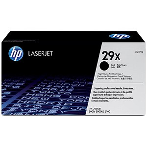 Image of HP 29X Black Laser Toner Cartridge