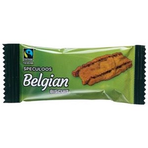 Image of Fairtrade Coffee Biscuits Caramelised Individually-wrapped Portions Ref A03923 [Pack 300]