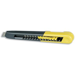 Image of Stanley Heavy-duty Knife with ABS Plastic Body and 18mm Snap-Off Blade Ref 0-10-151