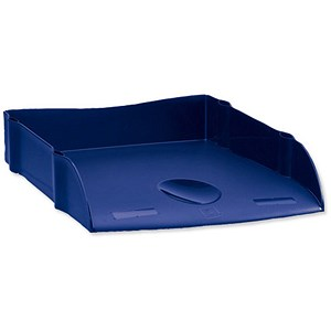 Image of Avery DTR Self-stacking Letter Tray / W270xD360xH60mm / Blue