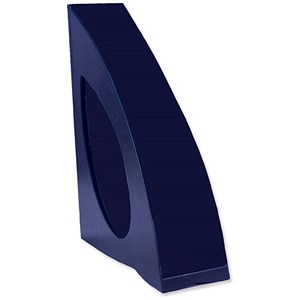 Image of Avery DTR Eco Magazine Rack / Recyclable / A4 / Blue