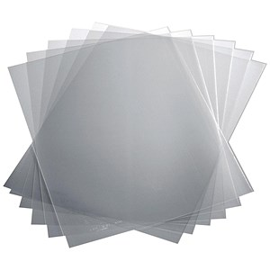 Image of Polypropylene Report Covers / Clear / A3 Folds to A4 / Pack of 50