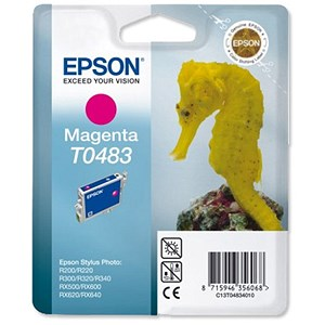Image of Epson T0483 Magenta Inkjet Cartridge