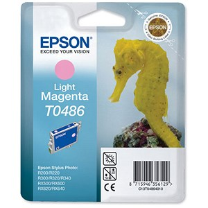 Image of Epson T0486 Light Magenta Inkjet Cartridge