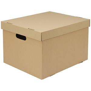 Image of Everyday A4 Archive Boxes / Brown / Pack of 10