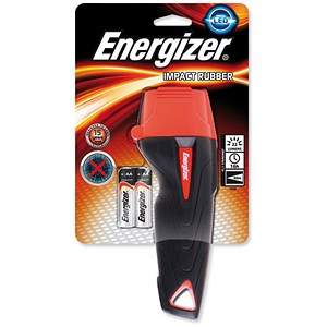 Image of Energizer Impact Large LED Torch Weatherproof 2AA Ref 632629