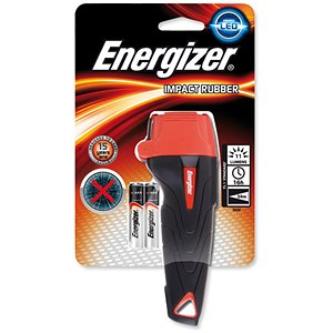 Image of Energizer Impact Small LED Torch Weatherproof 2AAA Ref 632630