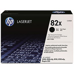 Image of HP 82X Black Laser Toner Cartridge