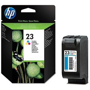 Image of HP 23 Colour Ink Cartridge