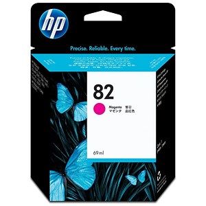 Image of Hewlett Packard [HP] No. 82 Inkjet Cartridge 69ml Magenta Ref C4912AE