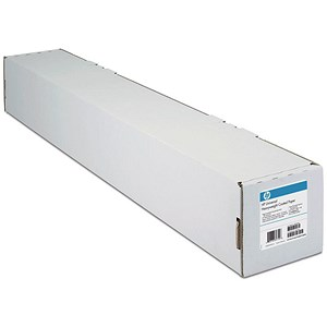 Image of HP Heavyweight Coated Paper Roll / 610mm x 30.5m / White / 130gsm
