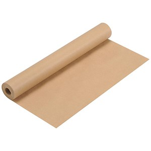 Image of Kraft Wrapping Paper Roll / 70gsm / 500mmx25m / Brown