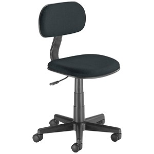 Image of Trexus Intro Typist Chair - Charcoal