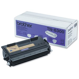 Image of Brother TN6300 Black Laser Toner Cartridge