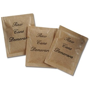 Image of Demerara Brown Sugar Sachets [Pack 600]