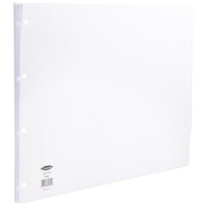 Image of Concord Subject Dividers / 5-Part / A3 / White