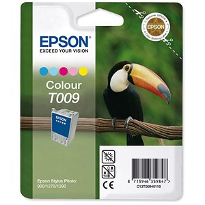 Image of Epson T009 Colour Inkjet Cartridge