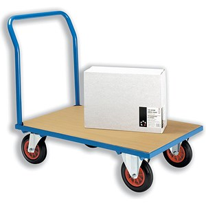 Image of 5 Star Platform Truck - Blue