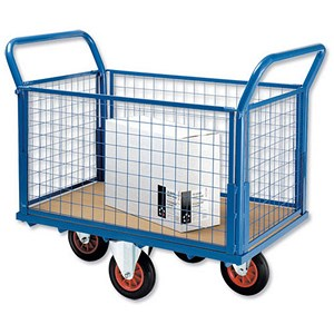 Image of 5 Star Balanced Wheel Truck / Mesh Panel / Blue