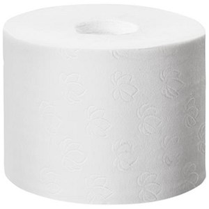 Image of Tork Coreless Toilet Roll / 2-Ply / White / 36 Rolls of 900 Sheets