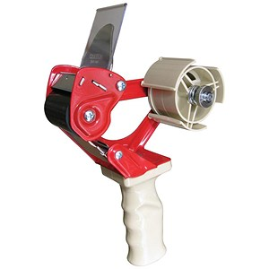 Image of Tape Dispenser Safety Hand Held with Retracting Blade for 50mm Tape