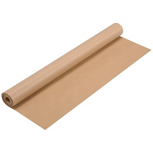 Image of Kraft Wrapping Paper Roll / 70gsm 750mmx25m / Brown