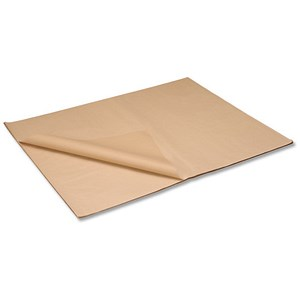 Image of Kraft Paper Packaging Sheets / 70gsm / 900x1150mm / Brown / Pack of 50