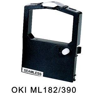 Image of Compatible Red/Black Ribbon / Equivalent to Oki ML182 for Oki 2455FN