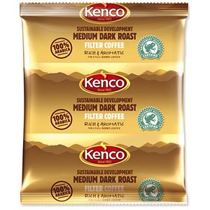 Image of Kenco Sustainable Development Filter Coffee Sachet for 3 pints with Filter Paper Ref A03211 [Pack 50]