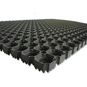 Image of Doortex Rubber Octomat / 800x1200mm / Black
