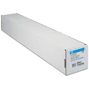 Image of HP DesignJet Universal Bond Inkjet Paper Roll / 610mm x 45.7m / White / 80gsm / 24 inch