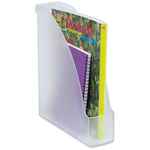 Image of Leitz Extra Capacity Magazine File / A4 / Clear