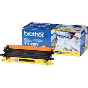 Image of Brother TN130Y Yellow Laser Toner Cartridge