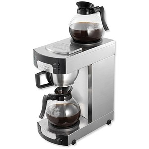 Image of Burco Filter Coffee Maker with Warming Plate and Indicator Light / 14 Cup Capacity / 1.7 Litres